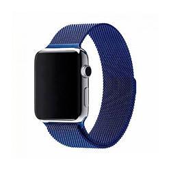 Ремешок для Apple Watch 38mm/40mm Milanese Loop Watch Band Blue