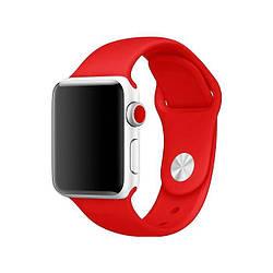 Ремешок для Apple Watch 38mm/40mm Silicone Watch Band Red