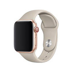 Ремешок для Apple Watch 38mm/40mm Silicone Watch Band Stone