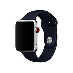 Ремешок для Apple Watch 42mm/44mm Silicone Watch Band Midnight Blue