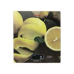 Весы кухонные электронные Ardesto SCK-893 Lemon