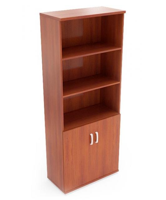 Шкаф для бумаг офисный М-601+703 (800 х 400 x 2000)