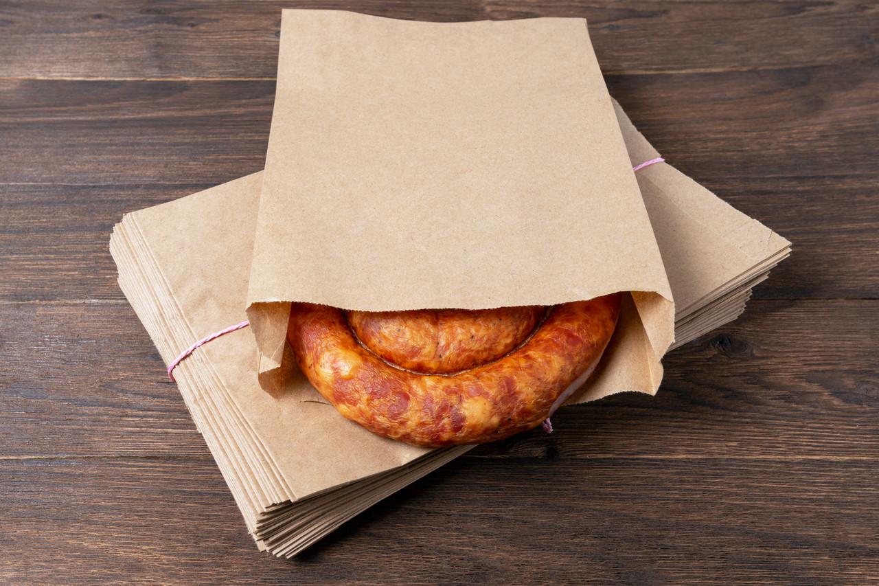 Пакети паперові еко 180*50*280 мм еко пакет саше для продуктів