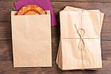 Пакети паперові еко 180*50*280 мм еко пакет саше для продуктів, фото 7