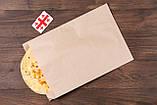 Паперові харчові пакети саше 180*50*280 мм крафт пакет під випічку, фото 4