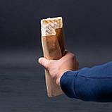 Бумажный пакет для шаурмы 100*70*230 мм крафт пакет саше под выпечку, фото 2