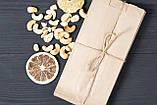 Крафт паперові пакети для сухофруктів, горіхів 100*70*230 мм пакет саше бурий, фото 2