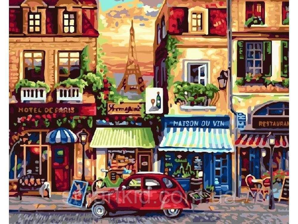 Картина по номерам 40х50 Під Парижем BS7087