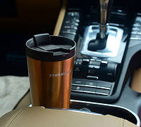 Походная термос чашка Starbucks Gold 480 мл