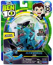 Фигурка Бен Тен 10 Молния 12,5 см Ben 10 Alien Worlds XLR8 Оригинал из США