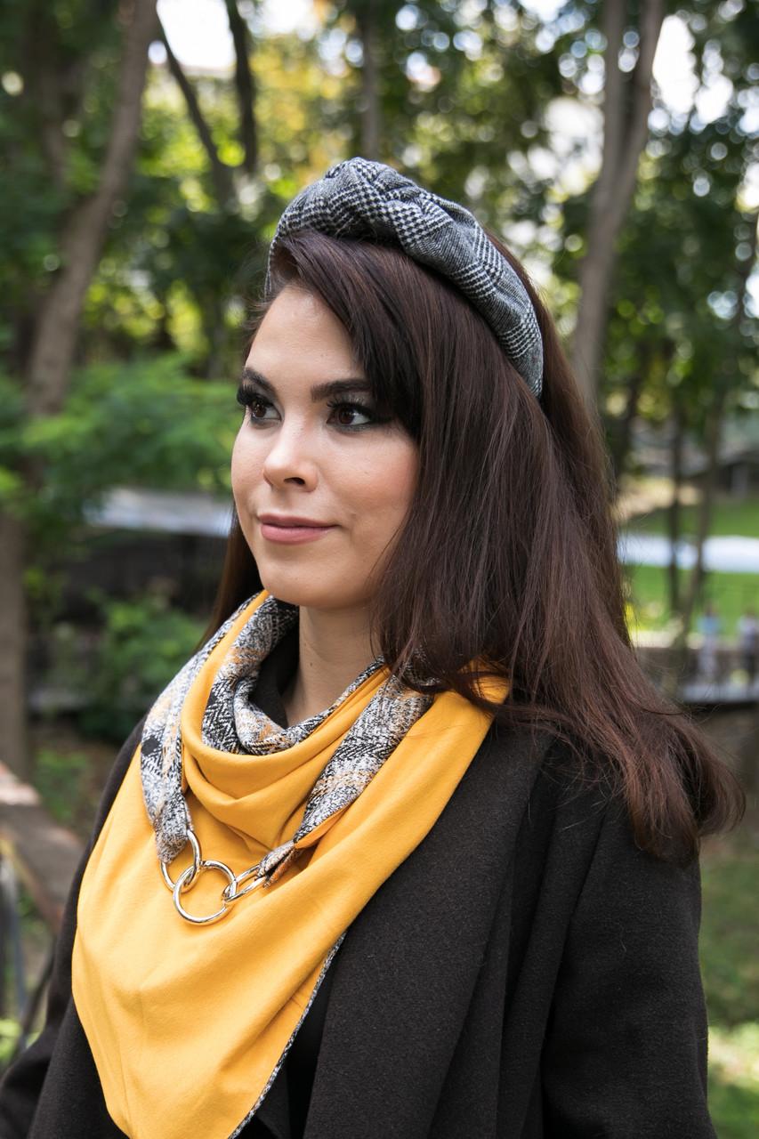 Стильний обруч обідок для волосся my scarf