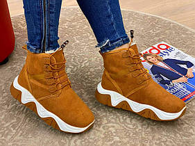 Женские зимние ботинки LUCHSHIE