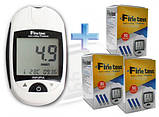 Глюкометр Finetest Auto-coding Premium + 25 тест-смужок, фото 2