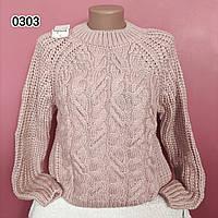 Ныжний мякий теплий светр Oversize, фото 1