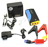 Пускозарядное устройство JUMPSTARTER TM19F(68800 mAh) + компрессор (300/600A) / Пусковая зарядка для авто, фото 2