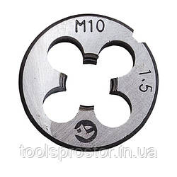 Плашка M 10x1,5 мм Intertool SD-8227