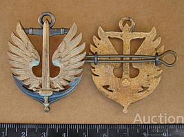 Беретный знак  морская пехота  Украина