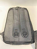 Рюкзак міський місткий Likee R261 Чорний, фото 3