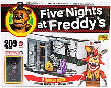 5 ночей з Фредді конструктор 209 од. McFarlane Five Nights at freddy's Parts Service, Оригінал з США
