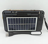Якісне Радіо на сонячній батареї Meier M-521BT-S, фото 2