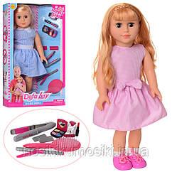 Кукла мягконабивная Defa Дефа 5511, рост 47см, 2 вида