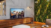 Телевизор Samsung 55 дюймов 4К Ultra HD Smart TV Android 9 WIFI Телевізор Самсунг Смарт ТВ