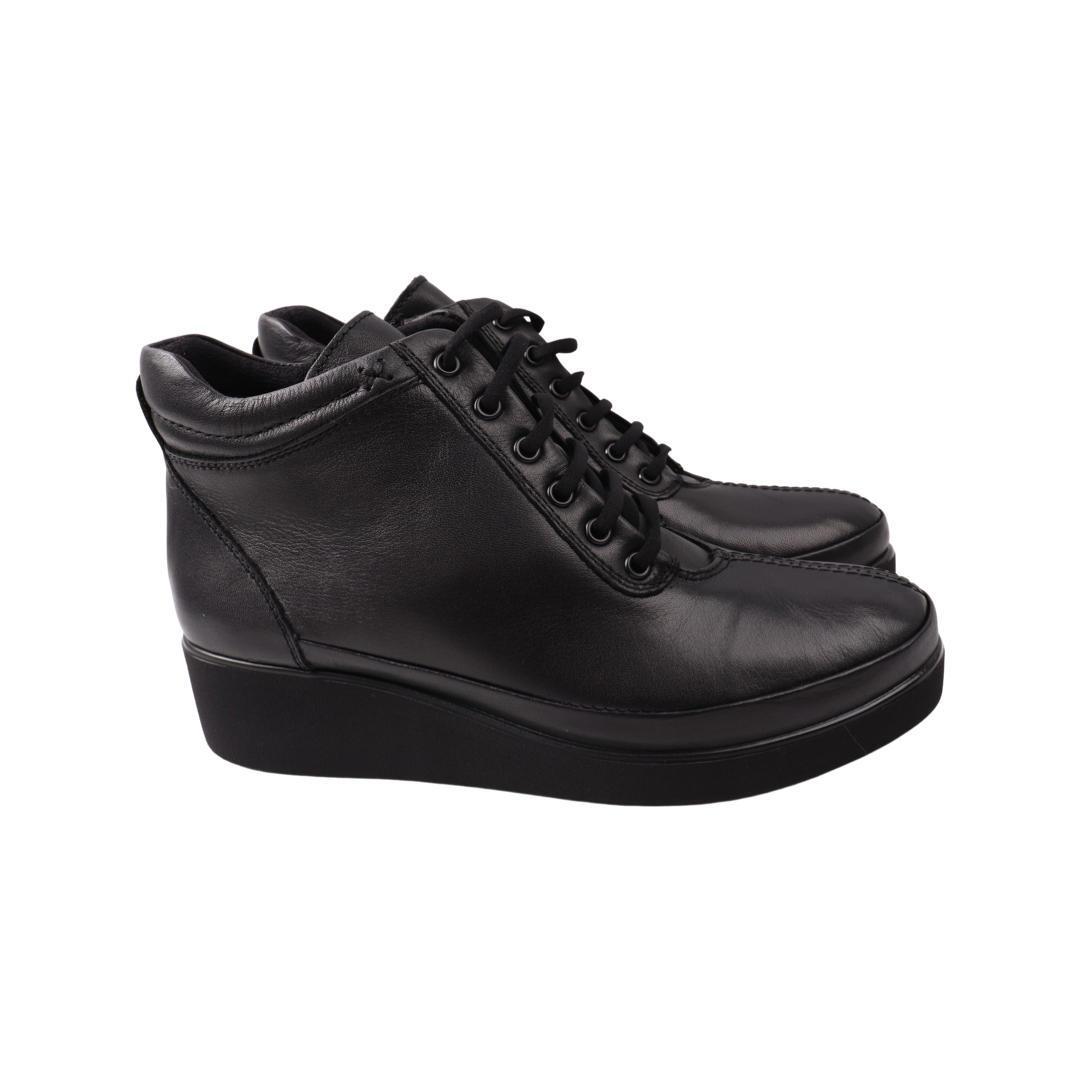 Ботинки женские Ripka черные натуральная кожа