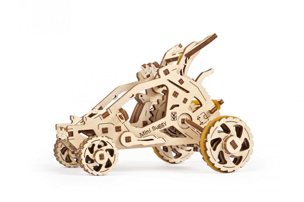 Механічні 3D пазли UGEARS - «Міні-Багі»
