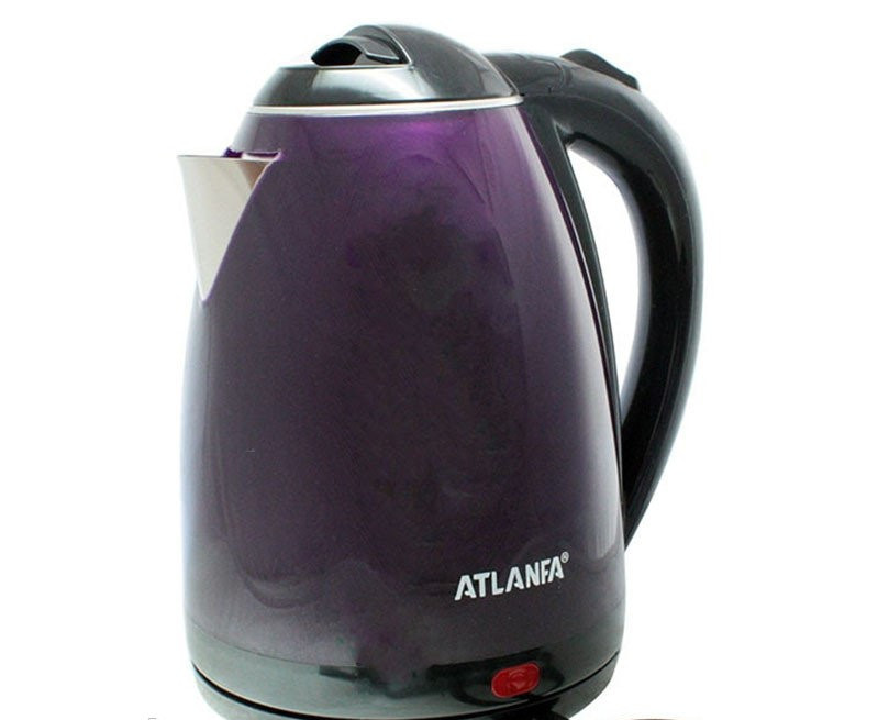 Електричний чайник ATLANFA AT-H01 дисковий з підсвічуванням 2.0 L 1800W Різні Кольори!