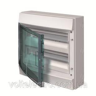 Розподільний щиток зовнішній з прозорою дверцятами, 4 мод. ABB Mistral65
