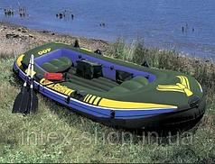 Надувная лодка Seahawk-400 Set Intex 68351