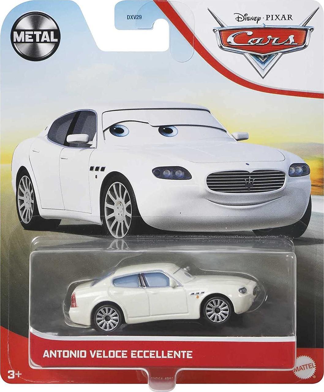 Тачки : Антонио Велоче Ичиленте (Disney and Pixar Cars Antonio Veloce) от Mattel