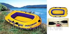 Надувная лодка Challenger 3 Intex 68358