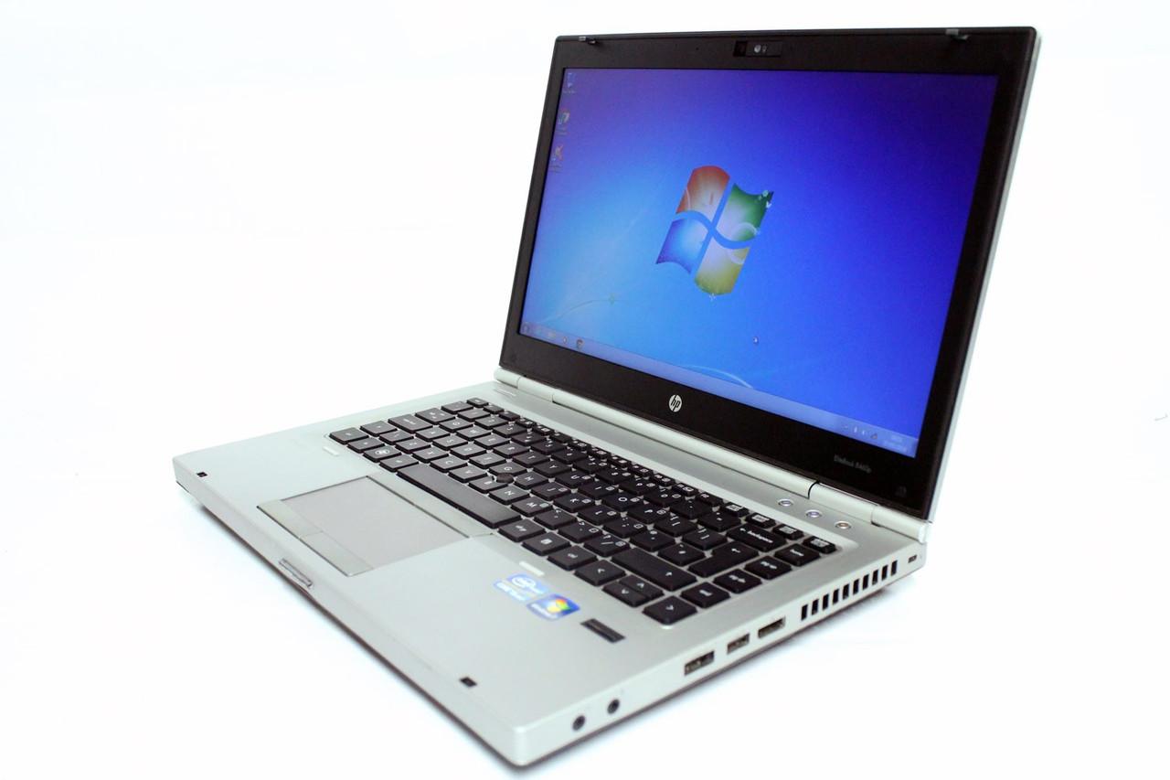 Ноутбук HP Elitebook 8460p-Intel Core i5-2520M-2.5GHz-4Gb-DDR3-320Gb-HDD-DVD-R-W14-W7P-Web-(B)- Б/У