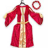Карнавальний костюм Принцеса Середньовічна S/M/L 87457, фото 2