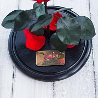 Гравіювання для троянди в колбі під замовлення