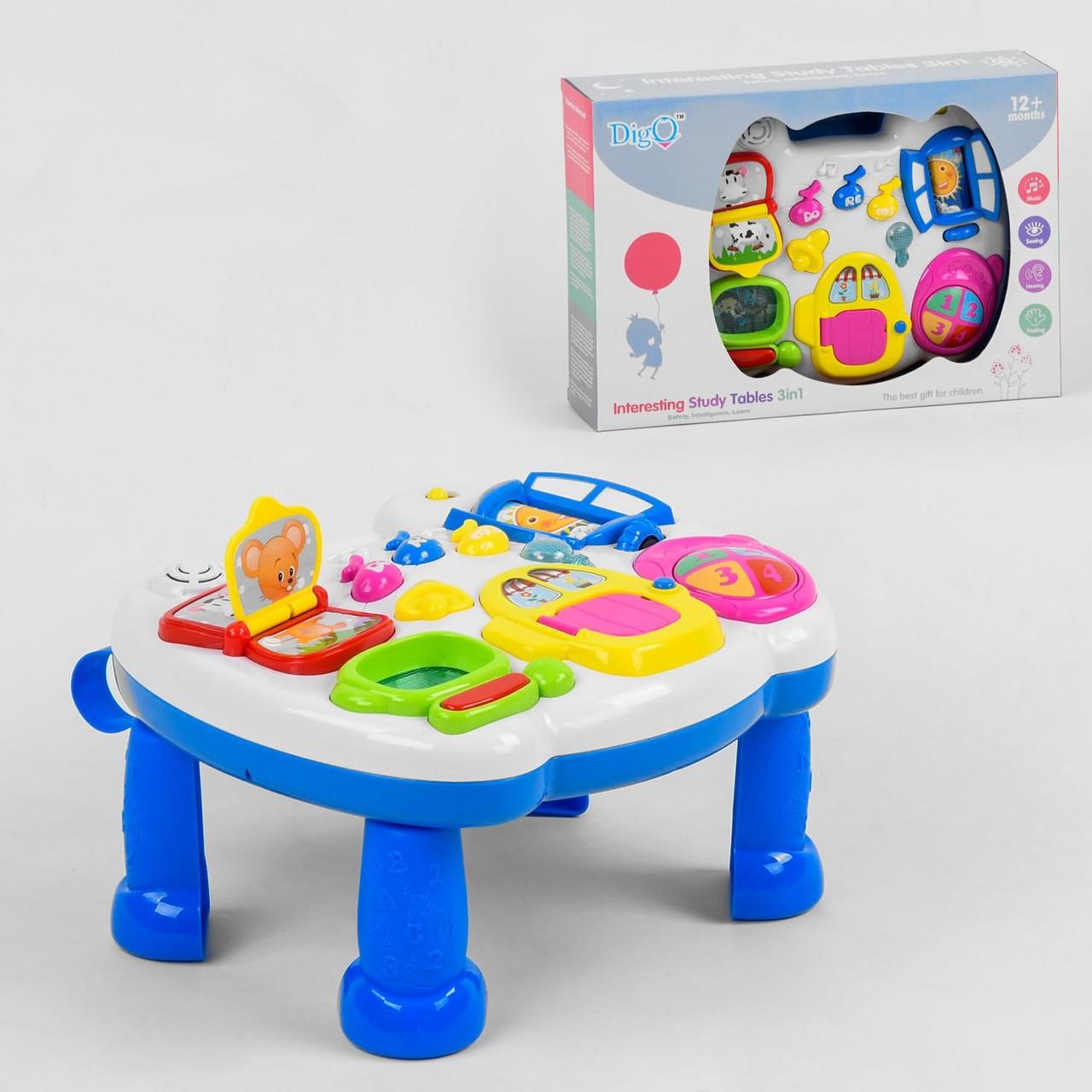 Игровой музыкальный столик WD 3629, световые, звуковые эффекты