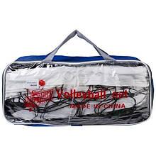 Сітка волейбольна з металевим тросом World Sport код:VN 2008