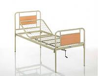 Кровать медицинская металлическая двухсекционная