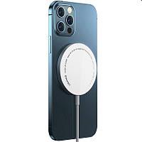 MagSafe зарядное устройство Usams US-CD155 for iPhone 12, 15W, Type-C (магнитный)