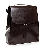 Жіночий шкіряний рюкзак коричневого кольору Аlex Rai рюкзак для міста, прогулянок із натуральної шкіри