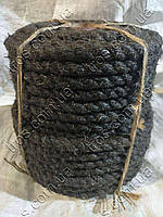 Канат пропитанный пеньковый ПТпр тросовой свивки 20 мм ( пропитка Е - 1 ), фото 1