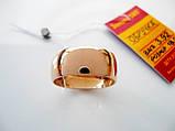 Широке обручку 3.92 грама 18.5 розмір Золото 585 проби, фото 2
