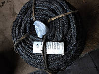 Канат пропитанный пеньковый ПТпр тросовой свивки 22 мм ( пропитка Е - 1 ), фото 1