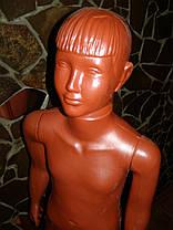 ·        Манекен объемный  детский в полный рост школьник терракот, фото 3