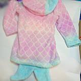 Дитячий махровий халат 3-4 роки Рибка, фото 2