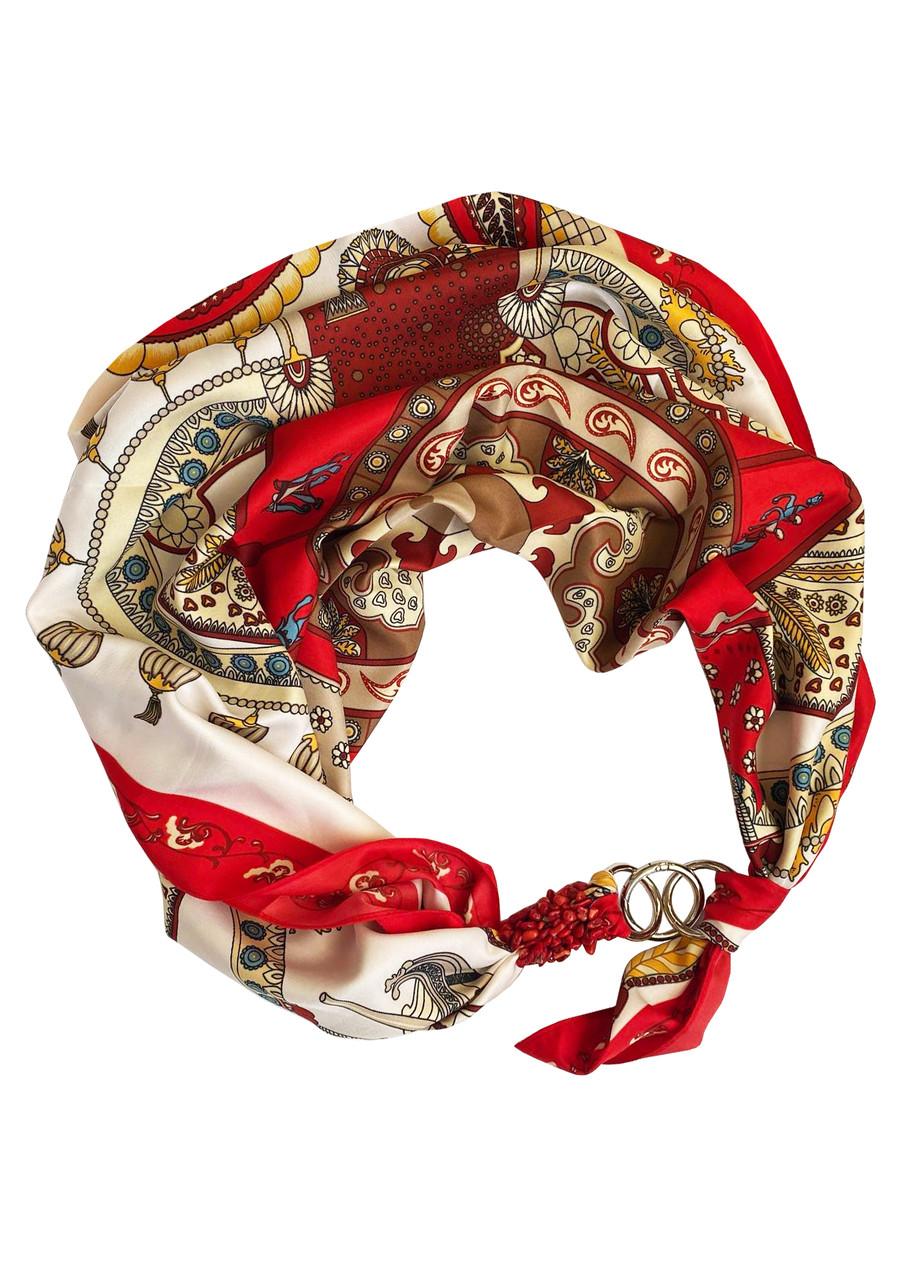 """Платок """"Роковая страсть"""" от бренда MyScarf, подарок женщине"""