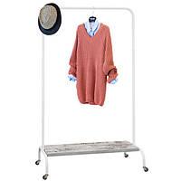 Стійка для одягу «Лофт 2Б Пром» Білий, фото 1