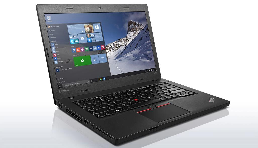 Ноутбук Lenovo ThinkPad L460-Intel Core i5-6300U-2,5GHz-8Gb-DDR3-500Gb-HDD-W14-Web-(A)- Б/У