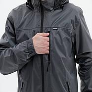 Костюм від дощу BAFT Rain Pro Men p.S Grey, фото 3